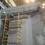 АО «КБ «Искра» продолжается монтаж ворот защитных от рентгеновского излучения